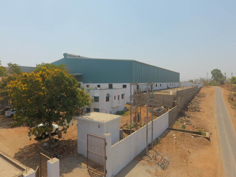 Shreeshakti group industrial project front entry