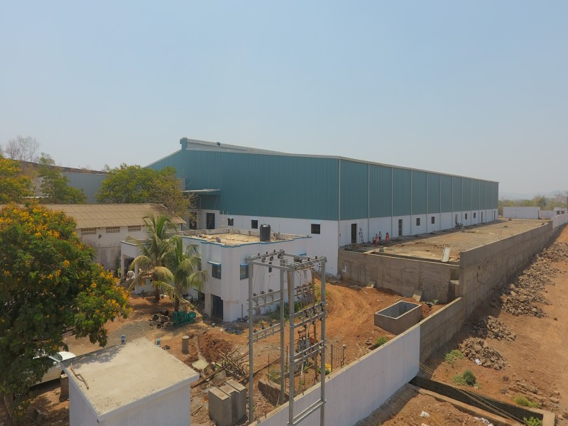 Shreeshakti group industrial project wall